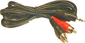 "2x cinch / Jack 3,5"" - 10 m - NVDK966"